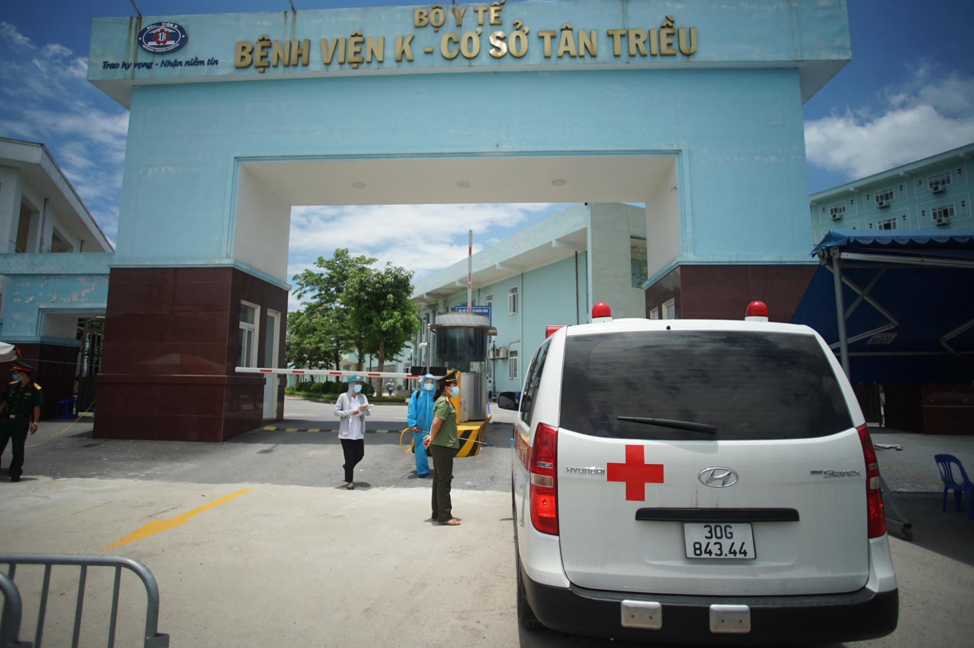 Bệnh viện K cơ sở Tân Triều là tiếp tục quay trở lại hoạt động bình thường,