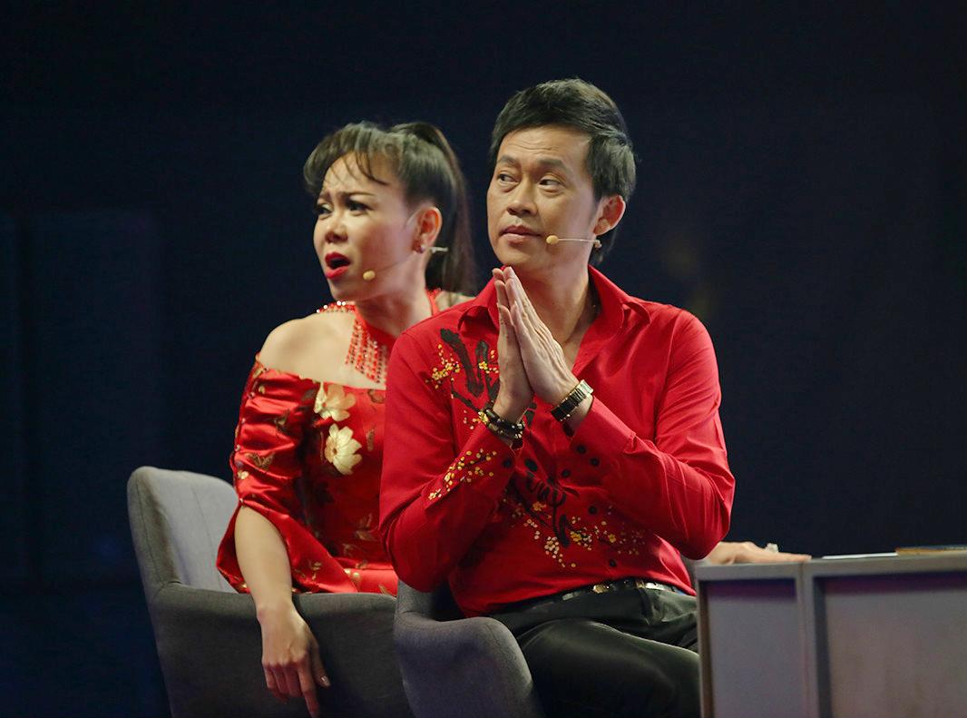 Nghệ sĩ Hoài Linh từng xuất hiện trong nhiều chương trình phát trên HTV