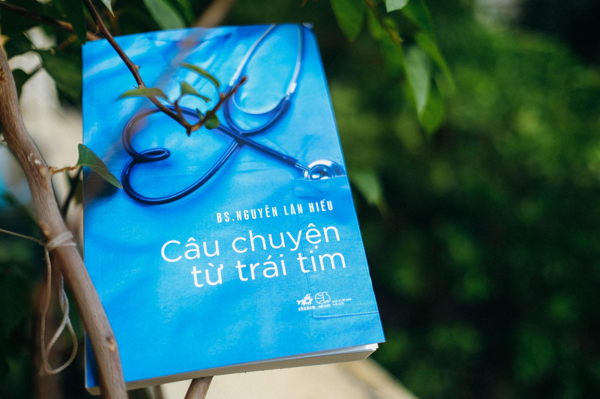 Bác sĩ Nguyễn Lân Hiếu gửi gắm nhiều tâm tư trong cuốn sách vừa xuất bản