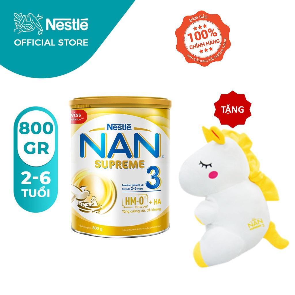 Sở hữu Nan Supreme 3 với giá giảm chỉ còn 439.000 đồng và được tặng kèm 1 gối kỳ lân. Nhập mã NAN05 để được giảm thêm 5% cho đơn hàng từ 250.000 đồng