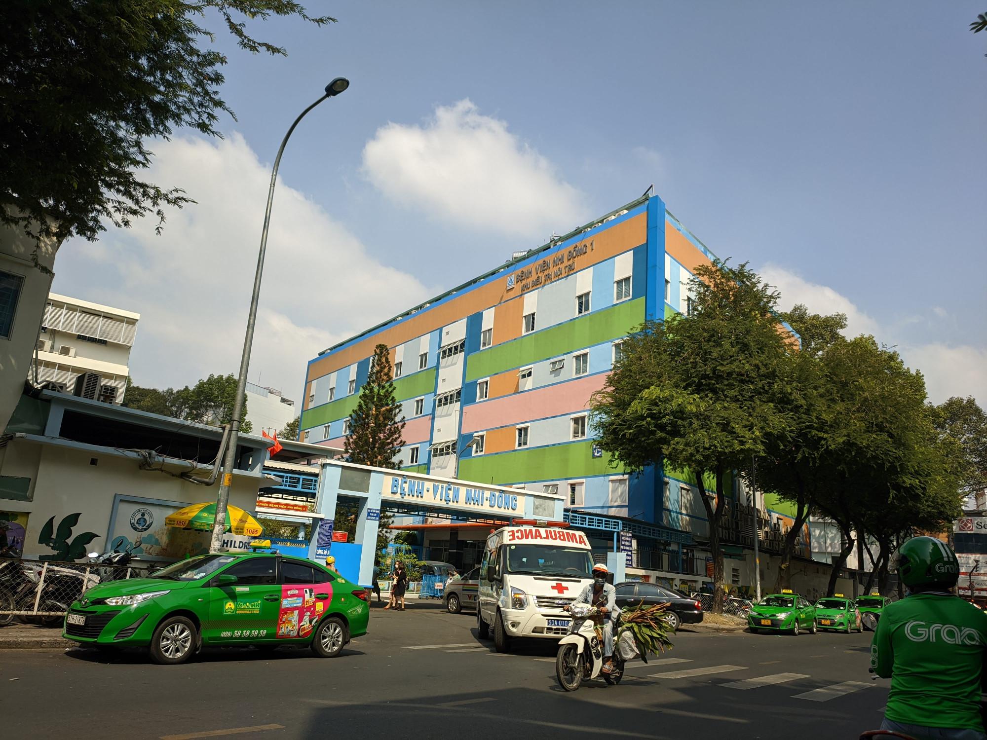 Bệnh viện Nhi đồng 1, TPHCM. Ảnh: Hiếu Nguyễn