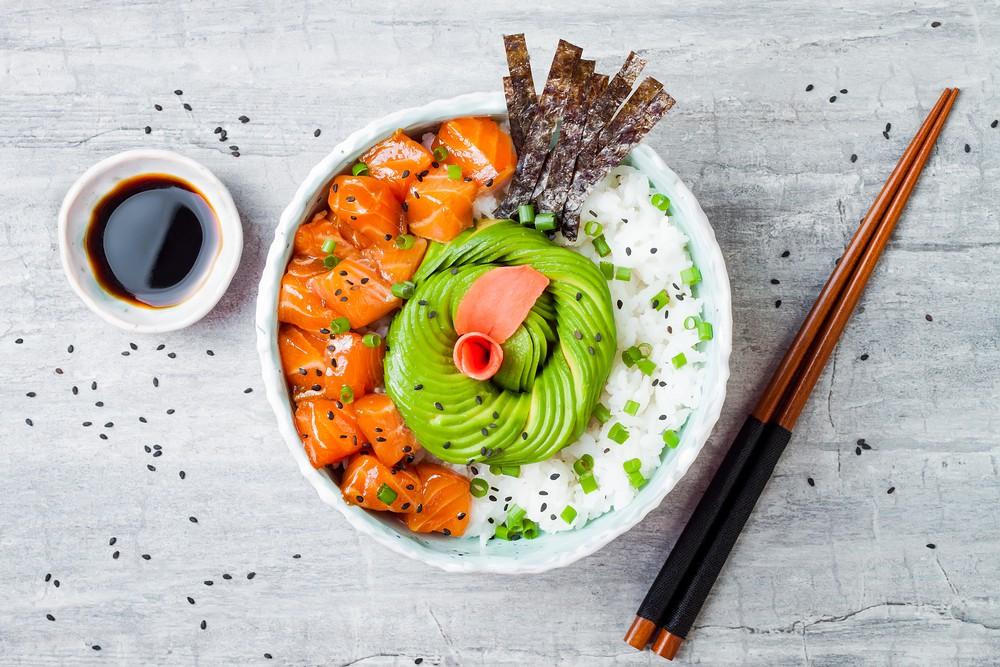 Poke Bowl là một nhà hàng sushi lấy cảm hứng từ poke, nhưng nó không kém phần ngon và độc đáo. Công thức nấu ăn có ảnh hưởng từ hương vị Nhật Bản và Poke Bowl thực sự đã rất sáng tạo. Sushi của họ là tươi, poke rất độc đáo và nhân viên cũng rất thân thiện.  Địa chỉ: 14 Hoà Mỹ, Đa Kao, Quận 1, Hồ Chí Minh