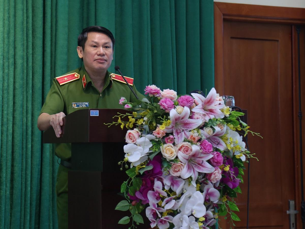 Thiếu tướng Nguyễn Văn Viện, Cục trưởng Cục Cảnh sát điều tra tội phạm về ma túy