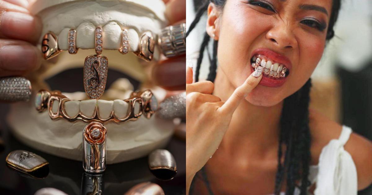 Món trang sức bằng vàng 18K và đá opal của Suboi có giá khá mềm: chỉ 58 triệu đồng