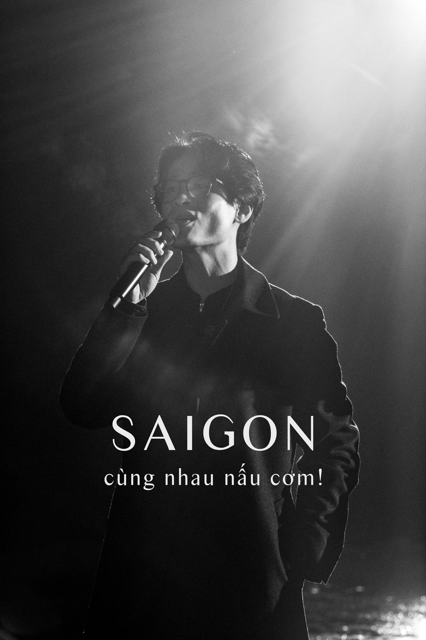 Tấm lòng của ca sĩ Hà Anh Tuấn Khi mệt, cả Sài Gòn sẽ cùng nhau nấu cơm. Ảnh: facebook ca sĩ Hà Anh Tuấn