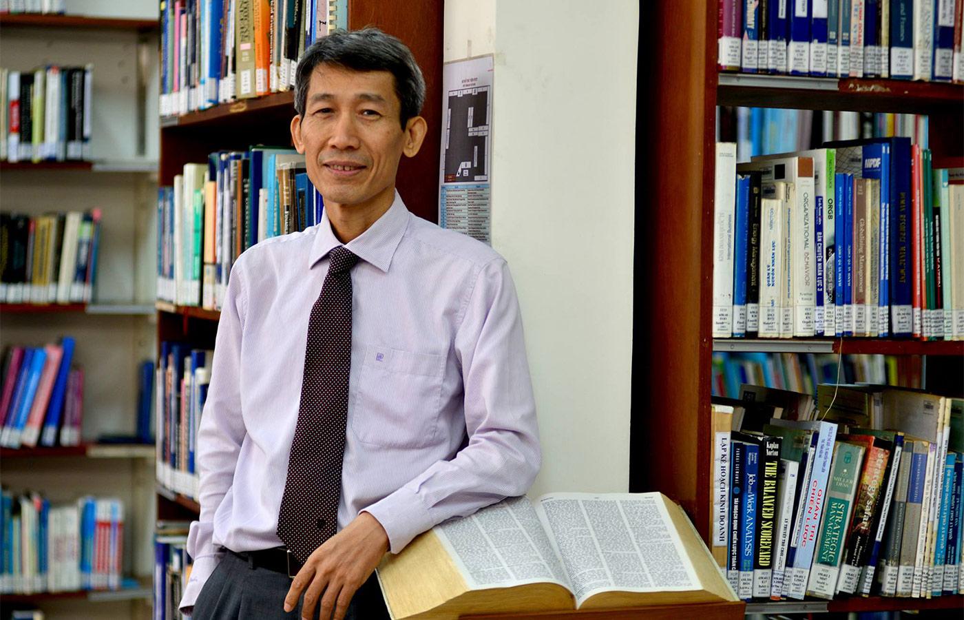 PGS.TS Phạm Duy Nghĩa, Giám đốc chương trình Thạc sĩ Chính sách công, Đại học Fulbright Việt Nam - Ảnh: Đại học Fulbright Việt Nam