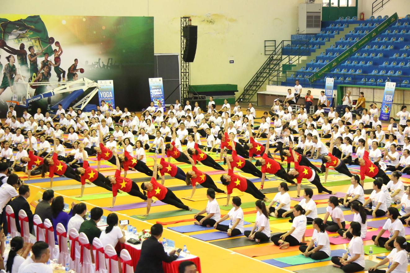 Ngày Quốc tế Yoga lần thứ năm tại TP.Cần Thơ năm 2019