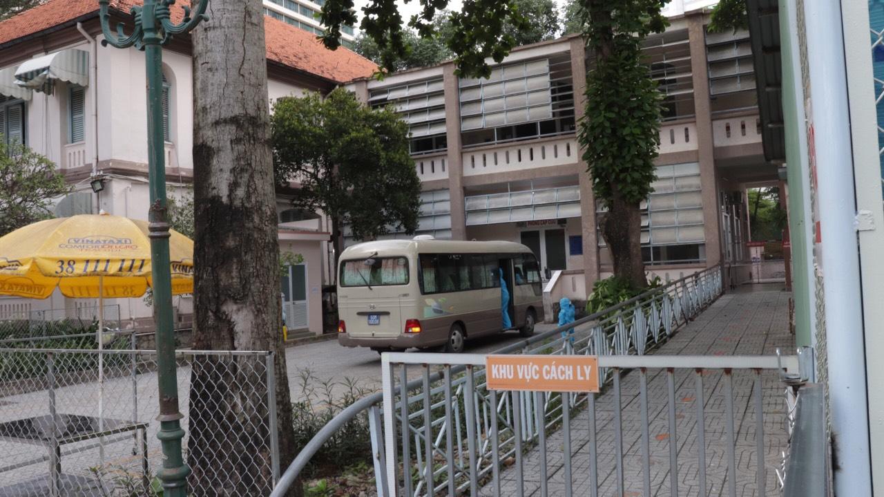 Đơn vị Điều trị COVID-19 tại Bệnh viện Nhi đồng 2 TPHCM, ảnh BVCC