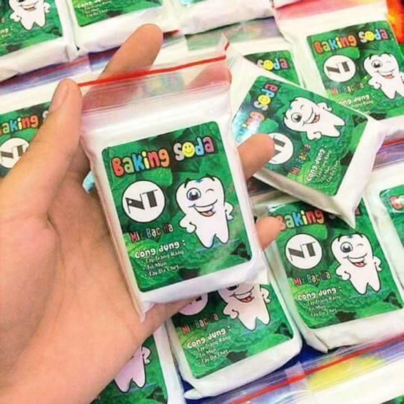 Các sản phẩm tẩy trắng răng không rõ nguồn gốc, chất lượng được rao bán tràn lan, tiềm ẩn nguy cơ gây hại cho người sử dụng - ẢNH: N.CẨM