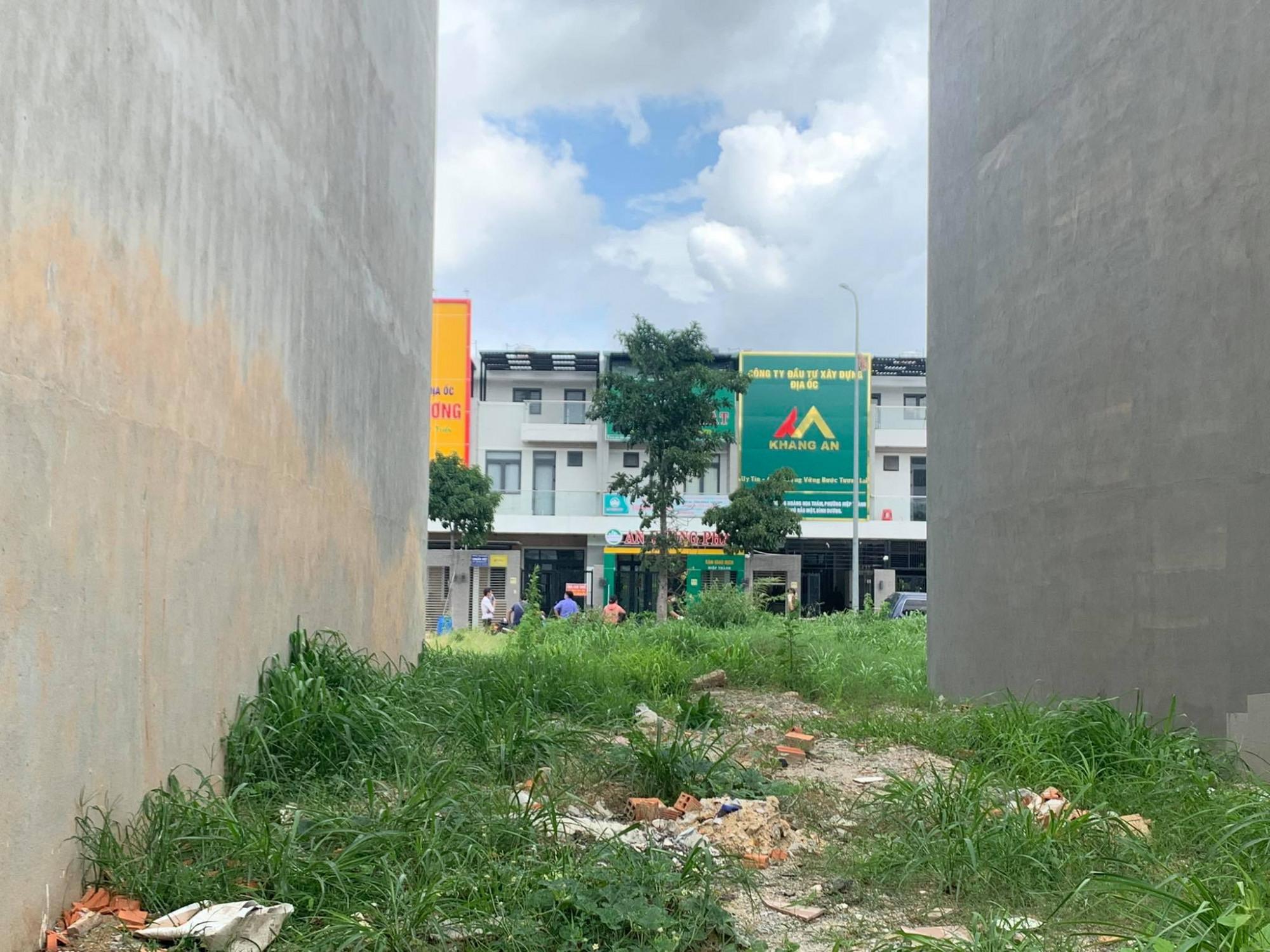 Văn phòng công ty bất động sản Khang An nơi xảy ra vụ việc