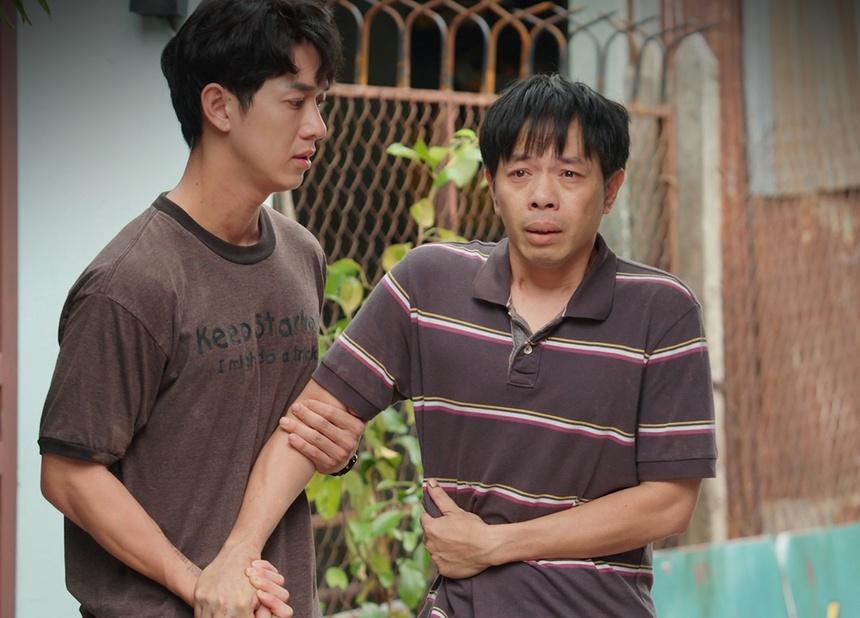 Thái Hòa nhận nhiều lời khen về diễn xuất trong Cây táo nở hoa.