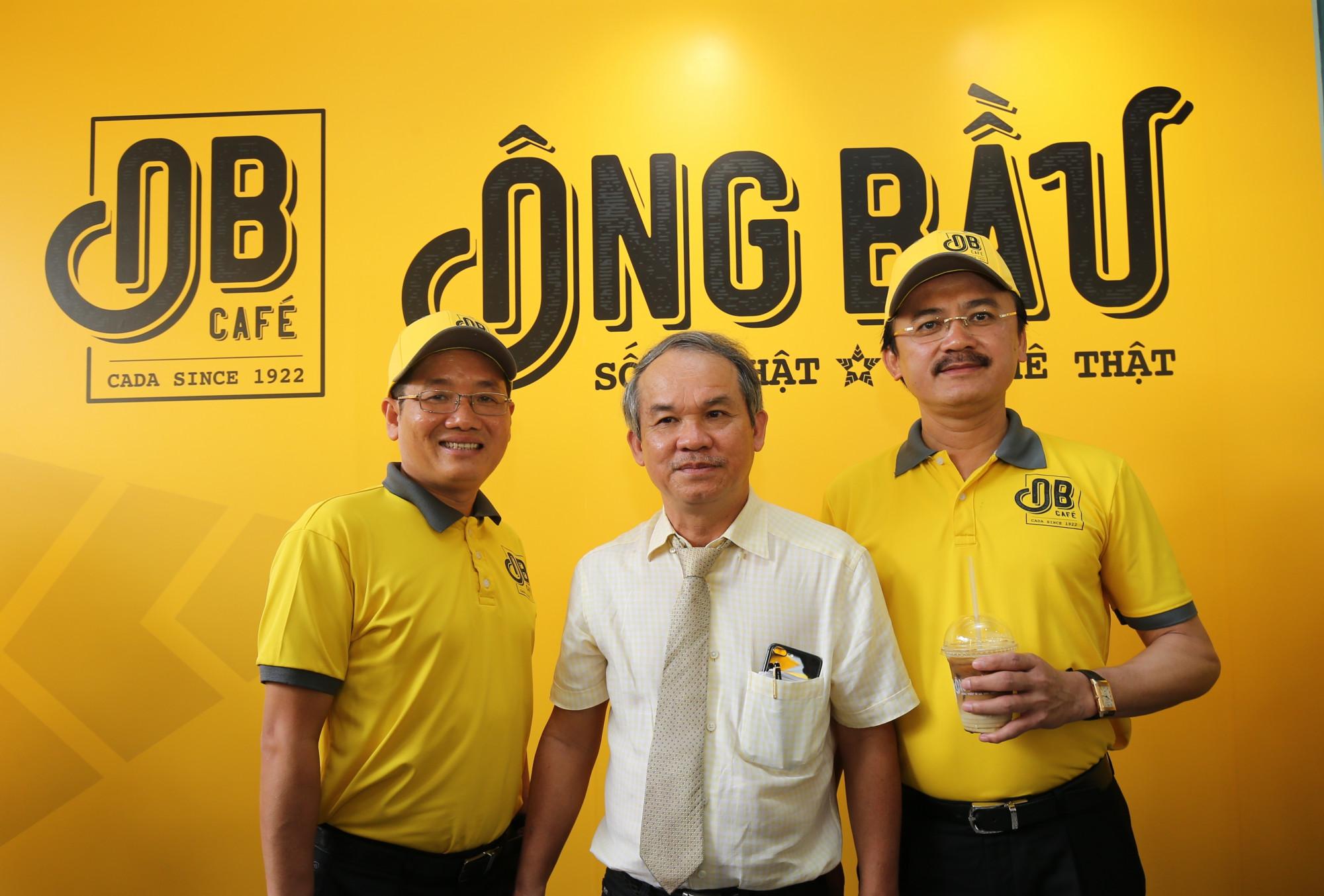 Ba sáng lập viên Quỹ Phát triển Tài năng Việt của Ông Bầu - Ảnh: Nutifood