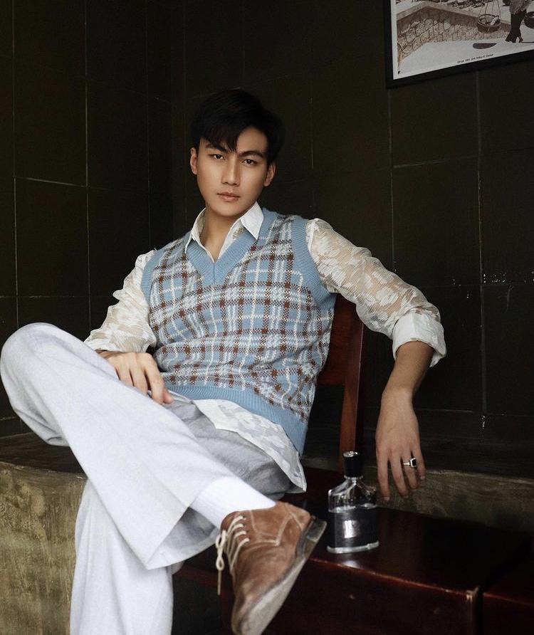 Người mẫu Mạc Trung Kiên