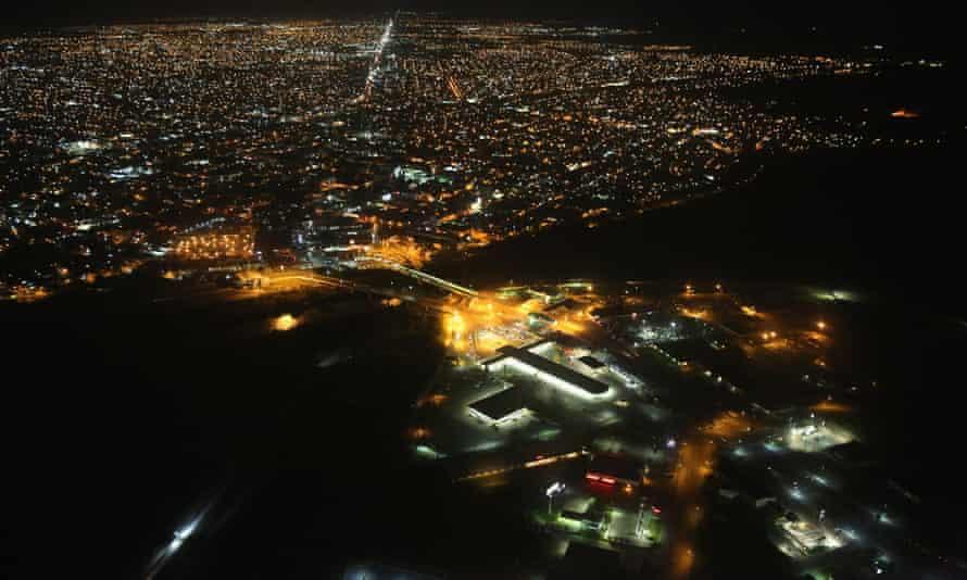 Reynosa, ngay bên kia biên giới với thành phố McAllen của Texas, từ lâu đã là thành trì của băng đảng buôn ma túy vùng Vịnh - Ảnh: Getty Images