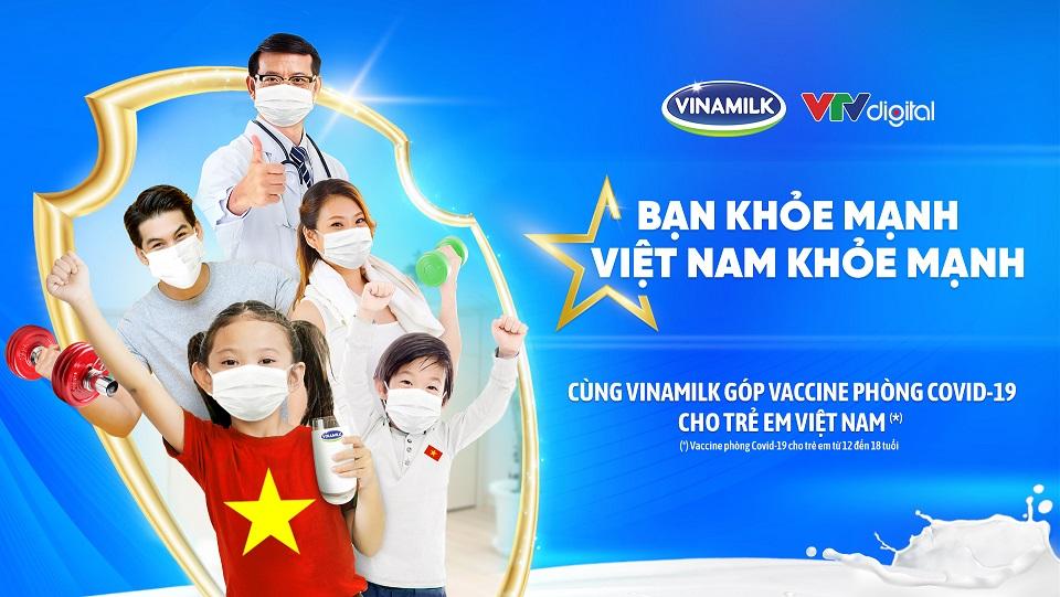 """Vinamilk khởi động chiến dịch cộng đồng """"Bạn khỏe mạnh, Việt Nam khỏe mạnh"""". Ảnh: Vinamilk"""