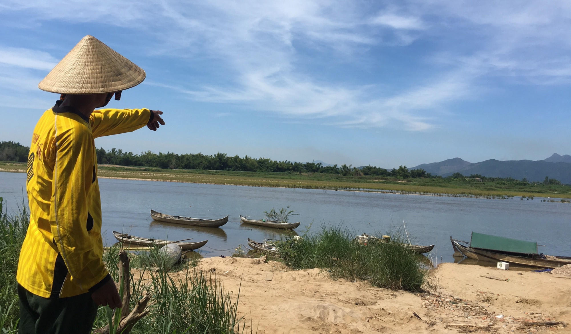 Đoạn sông, nơi xảy ra vụ việc thương tâm