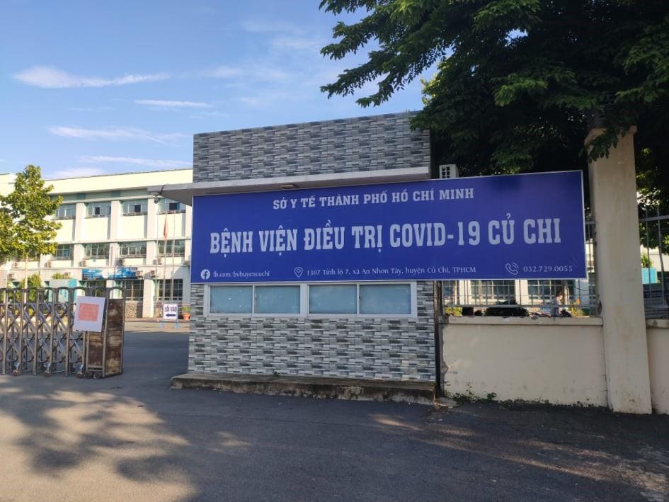 Bệnh viện điều trị COVID-19 huyện Củ Chi ,TPHCM