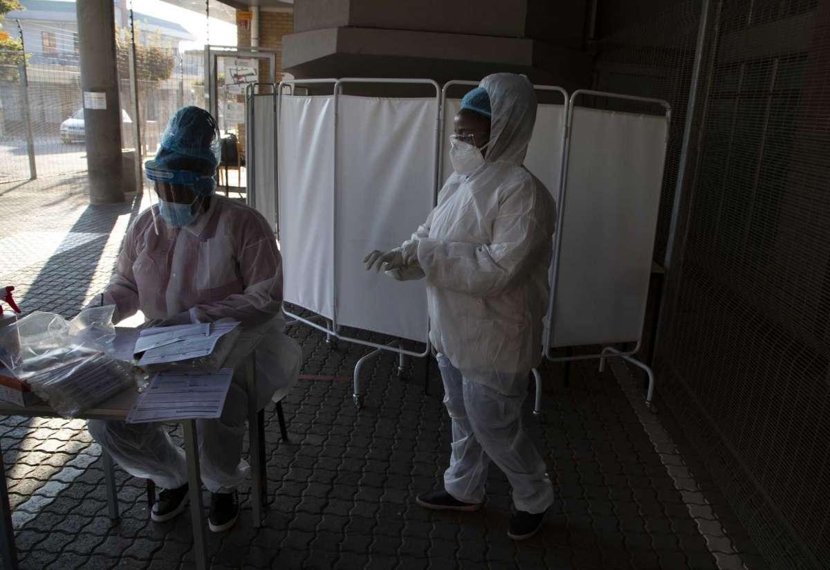 Số ca nhiễm mới SARS-CoV-2 và tử vong tăng nhanh tại châu Phi kể từ đầu tháng 5.