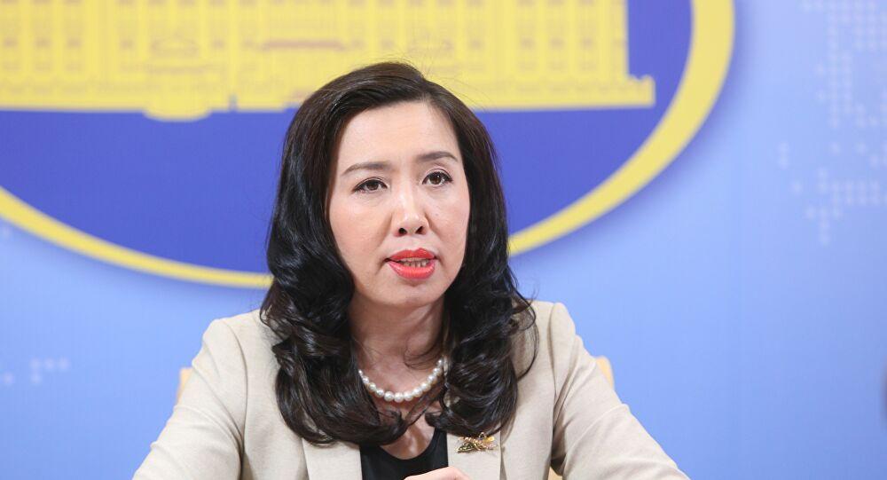 Người Phát ngôn Bộ Ngoại giao Lê Thị Thu Hằng khẳng định: nói Việt Nam là may mắn trong công tác phòng chống dịch bệnh là hoàn toàn không khách quan.
