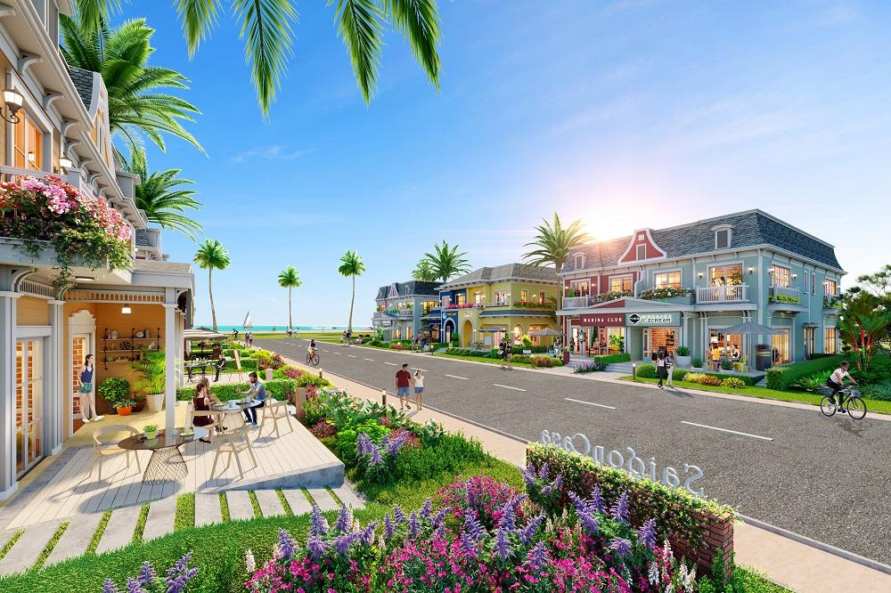 """Shop villa Wonderland - phiên bản nâng cấp của nhà phố thương mại - sẽ được giới thiệu trong sự kiện """"Ngôi nhà thứ 2 của lợi nhuận kép"""" diễn ra vào ngày 27/6/2021, tại https://www.facebook.com/NovaWorldHoTram.vn"""