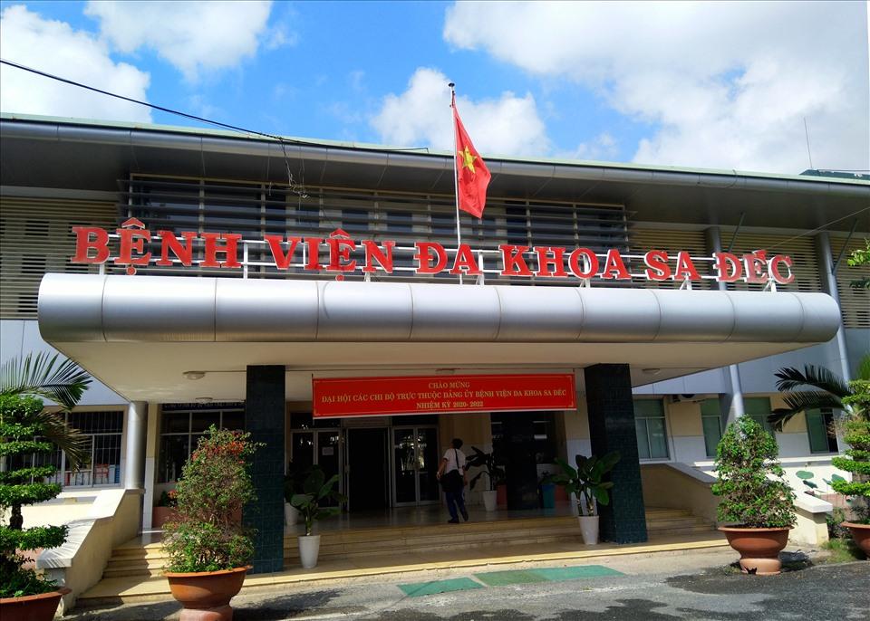Bệnh viện đa khoa Sa Đéc bị phong toả 7 ngày vì có ca nghi COVID-19