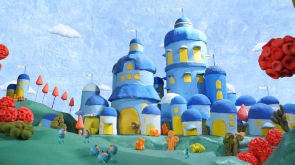 Ngôi làng ruột bình yên được trấn giữ bởi đội quân siêu nhân Antibio Pro