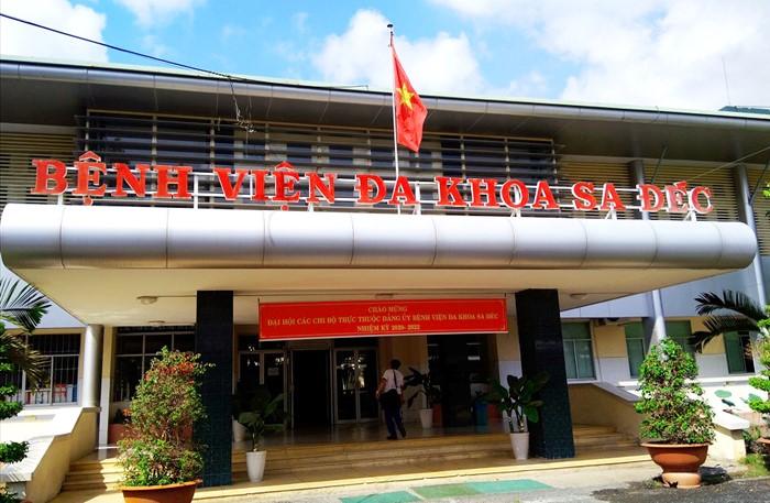 Cách ly y tế tạm thời đối với Bệnh viện đa khoa Sa Đéc trong vòng 7 ngày