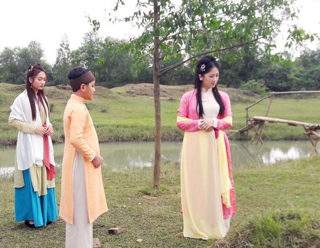 Một  cảnh trong phim Địa Thi hào Nguyễn Du (ảnh: internet)