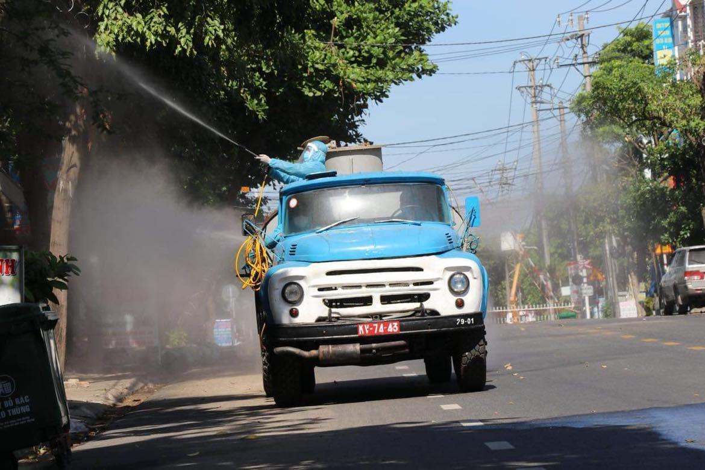 Phun thuốc khử khuẩn TP Tuy Hòa Khu vực phong tỏa đường Lê Trung Kiên (TP Tuy Hòa) Khu vực phong tỏa đường Trần Phú (TP Tuy Hòa)