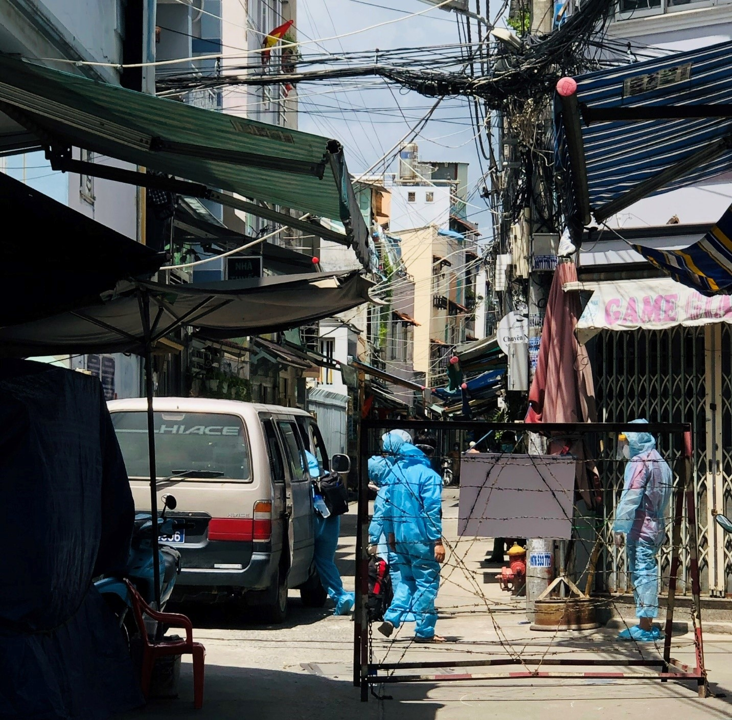 Hẻm  76 Tôn Thất Thuyết, quận 4, TPHCM