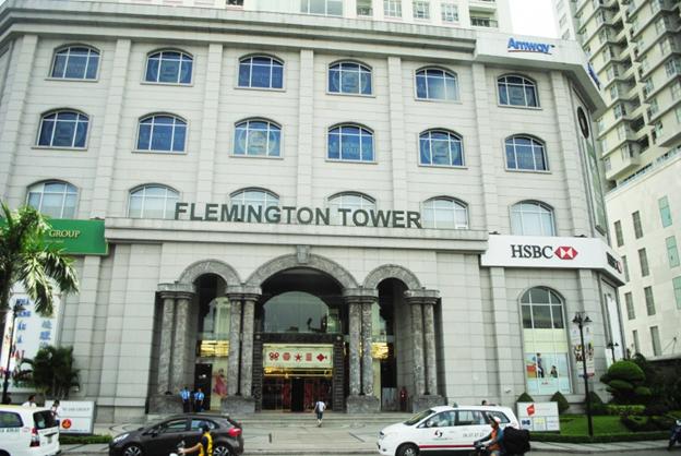 Cao ốc Flemington gồm 3 tháp A, B, C với 23 tầng mỗi tháp