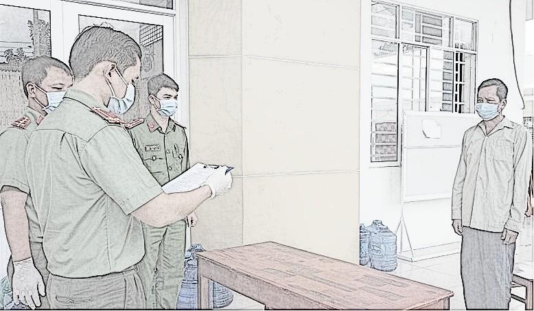 Cơ quan chức năng thi hành lệnh bắt tam giam bị can Dương Văn Tỷ