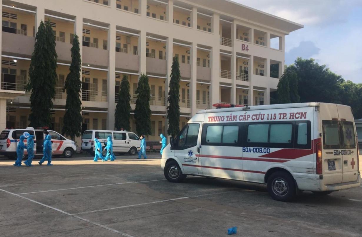 Bệnh viện dã chiến thu dung điều trị COVID-19 số 1 đã đi vào hoạt động