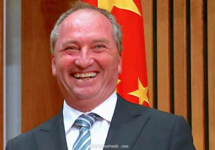 Phó thủ tướng Australia Barnaby Joyce
