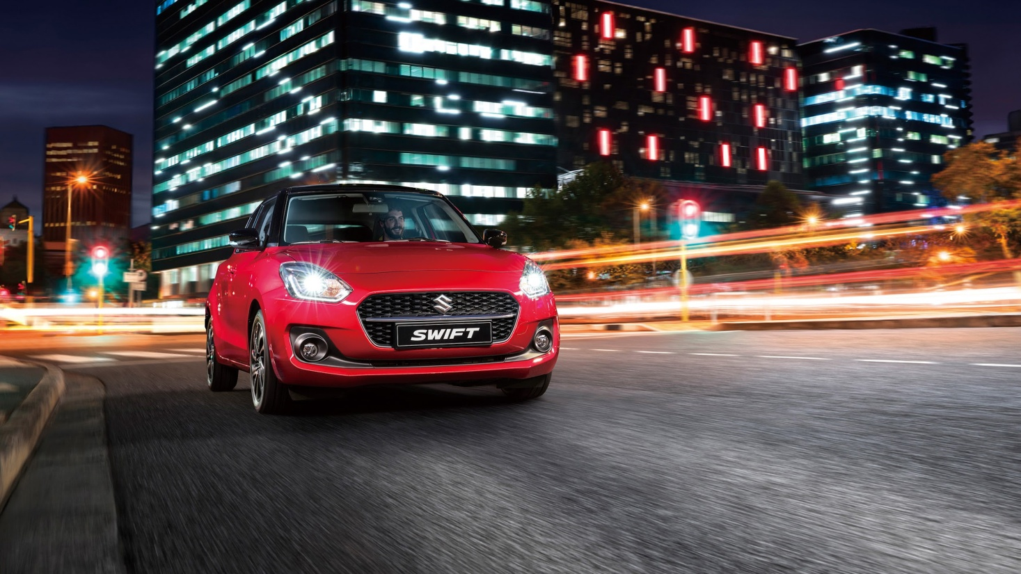 Suzuki New Swift 2021 giúp chủ nhân cảm nhận niềm vui mỗi ngay sau vô lăng