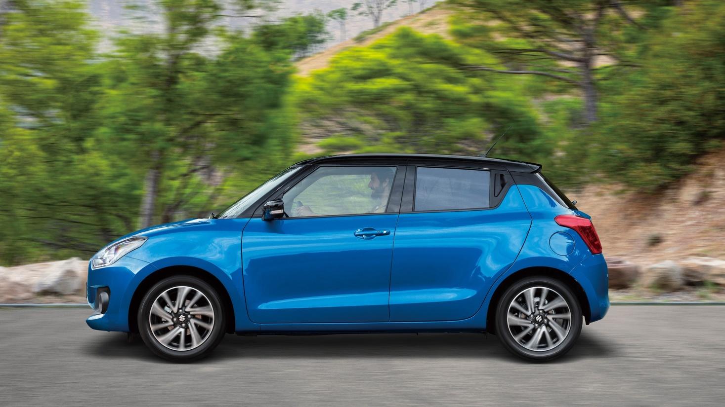 Suzuki Swift là một mẫu xe phong cách, thời trang, mang tính biểu tượng tại nhiều siêu đô thị năng động