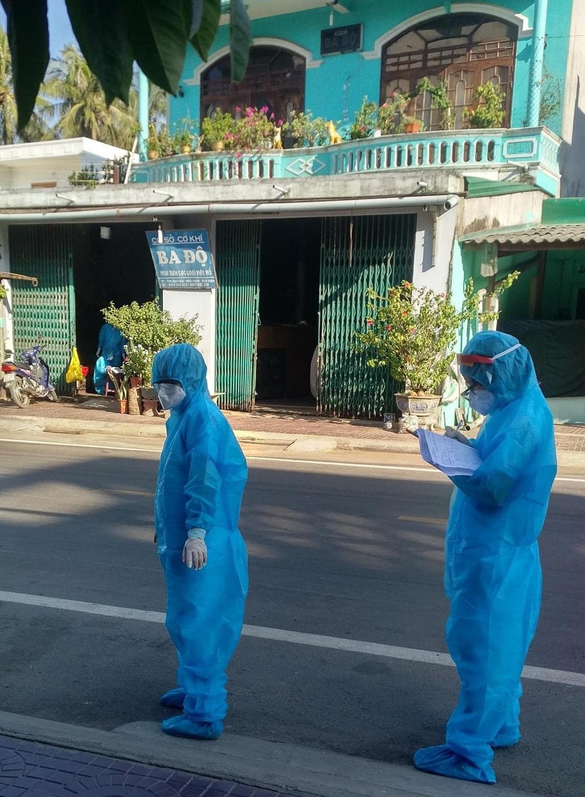 sáng 30/6, tỉnh Bình Định ghi nhận thêm 1 ca dương tính với SARS-CoV-2