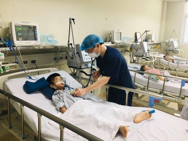 70% trẻ bị viêm não tại Bệnh viện Nhi Trung ương chịu di chứng nặng nề