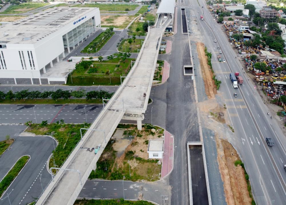 Dự án cũng sẽ giúp việc lưu thông vào bến xe Miền Đông mới và nhà ga metro số 1 Bến Thành - Suối Tiên được thuận lợi hơn, có thể giải quyết tình trạng ùn tắc khi bến xe này đi vào hoạt động hết công suất