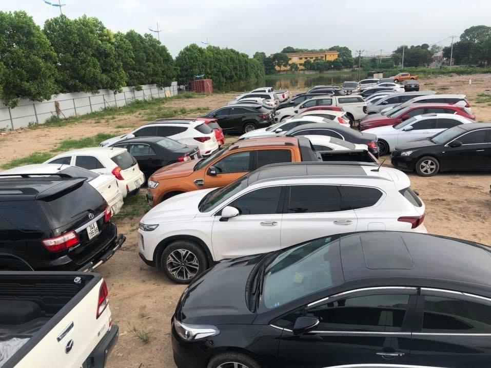 Số xe ô tô không rõ nguồn gốc vừa bị phát hiện tại Hà Nội.