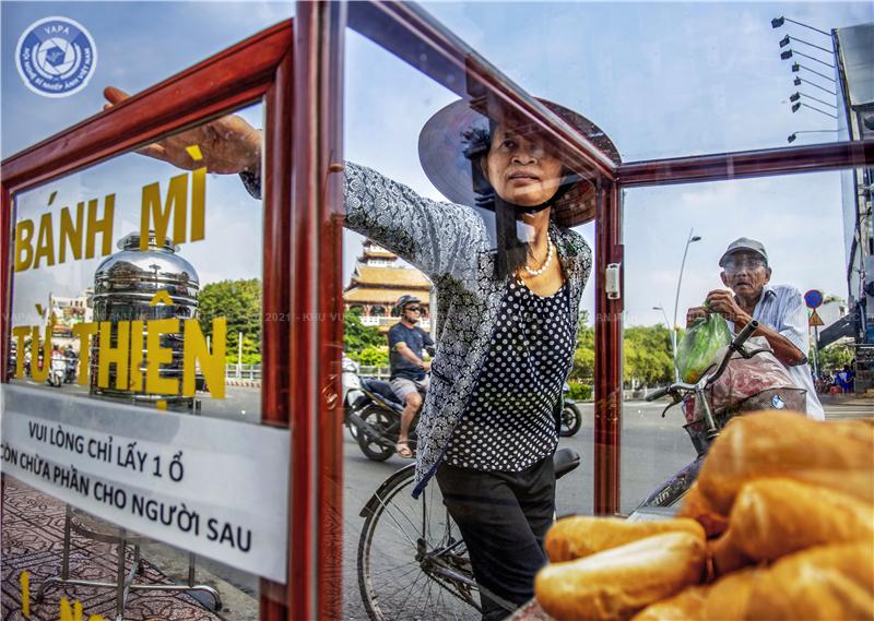 Tác phẩm Nét đẹp Sài Gòn.