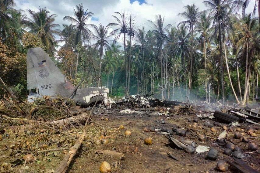 Đây là vụ tai nạn máy bay quân sự của Philippines trong năm 2021