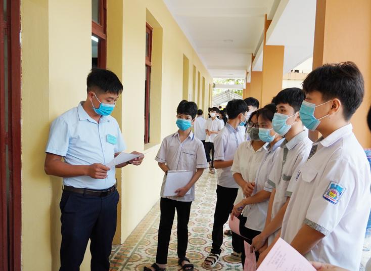 Bộ GD-ĐT đề nghị các Sở GD-ĐT tiếp nhận thí sinh của Hội đồng thi khác