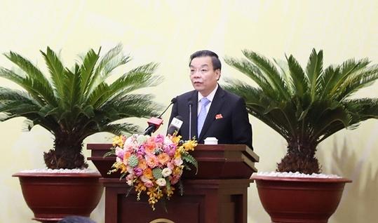 Ông Chu Ngọc Anh - Chủ tịch UBND TP Hà Nội