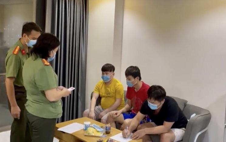 4 người nước ngoài nhập cảnh trái phép ở Chung cư SaiGon South, huyện Nhà Bè