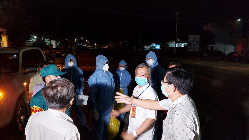 Ngành chức năng tỉnh Bình Phước truy vết phòng dịch ở huyện Chơn Thành