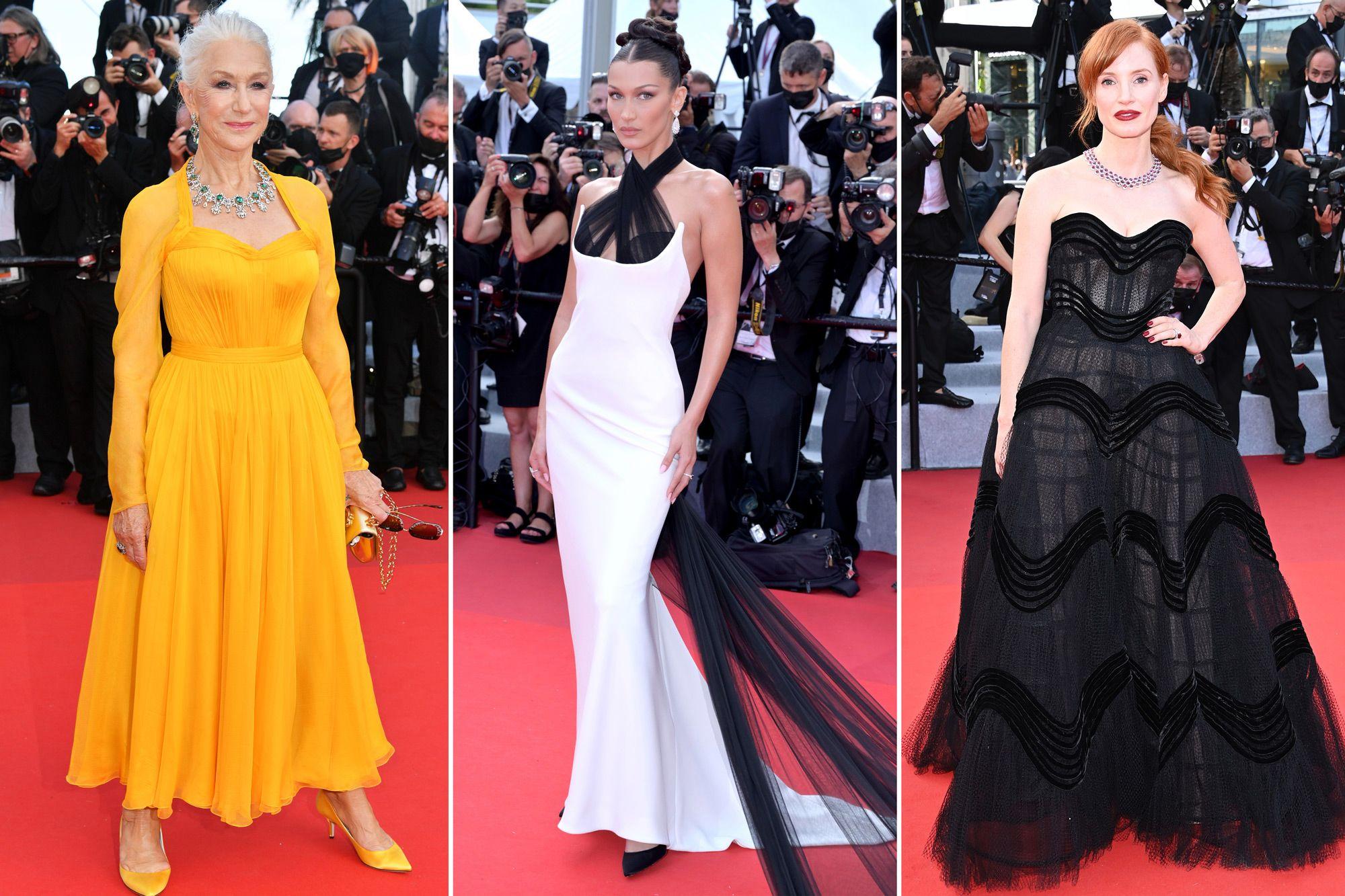 Thảm đỏ Cannes nhộn nhịp trở lại với sự tham gia của dàn diễn viên, người mẫu đình đám:
