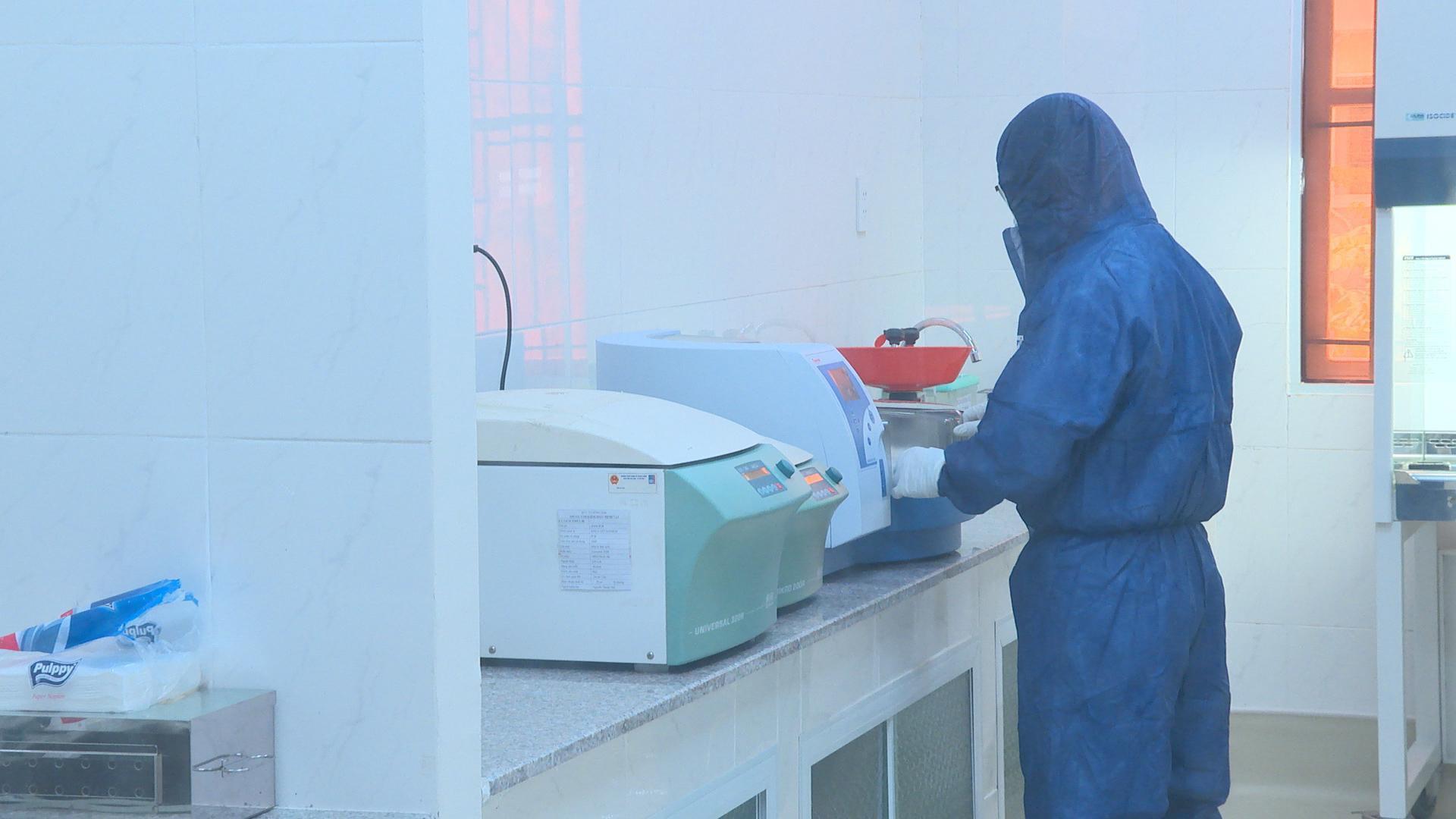 Xét nghiệm COVID-19 tại CDC Đồng Nai