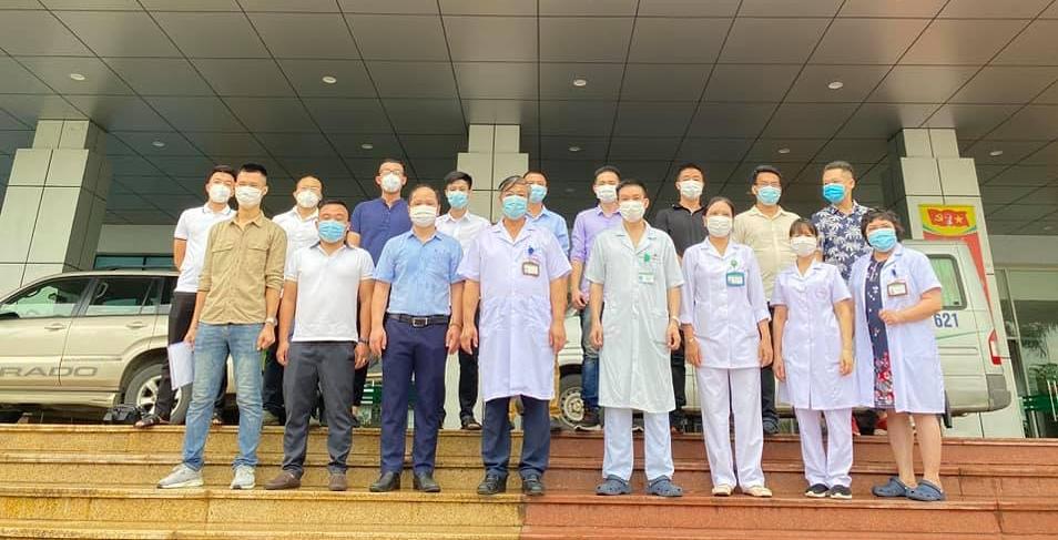 7g15 sáng ngày 8/7, 16 cán bộ đầu tiên sẽ di chuyển đến Thành phố Hồ Chí Minh để thực hiện nhiệm vụ chống dịch tại Bệnh viện Công an 30/4 (Quận 5, Thành phố Hồ Chí Minh).