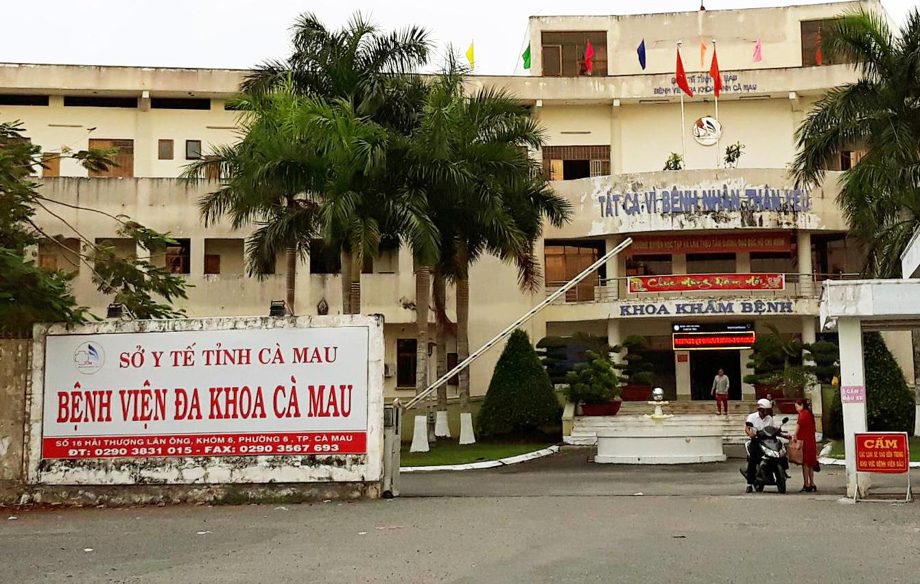 4 ca mắc Covid-19 mới ở Cà Mau đang điều trị tại Bệnh viện đa khoa tỉnh Cà Mau.